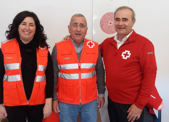 Entrega Uniformes Cruz Roja